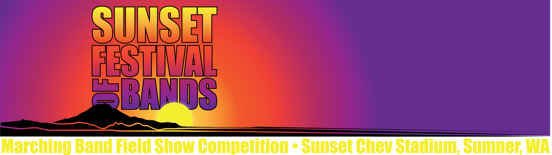 Sunset Festival of Bands header
